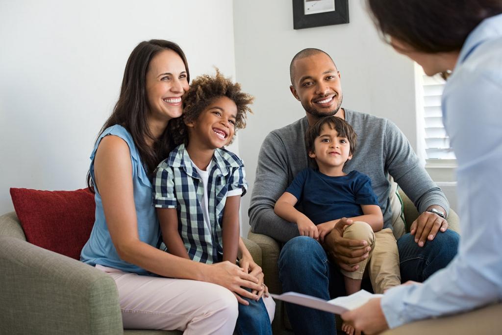 adoption family love parents children